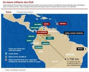 Bases militares de EEUU en Colombia