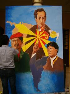 mural-colectivo-con-las-imagenes-de-el-libertador-simon-bolivar