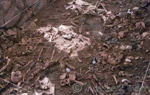 oct 92 exhumacion de las victimas del masacre en el mozote