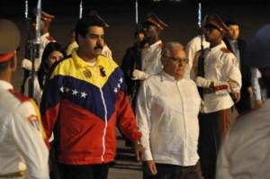 Maduro-llega-a-La-Habana-580x385