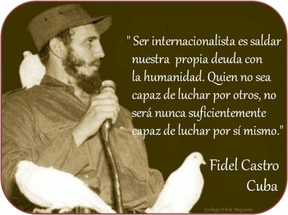 Fidel Ser internacionalista